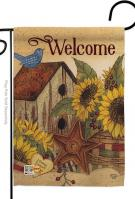 Sweet Home Sunflowers Garden Flag