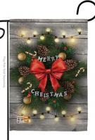 Lightful Merry Christmas Garden Flag