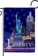 Freedom Of Liberty Decorative Garden Flag