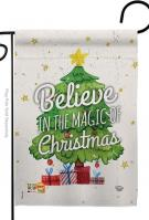Magic Of Christmas Garden Flag