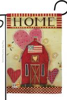 Hearts Of Home Garden Flag