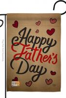 Happy Father\'s Day Garden Flag