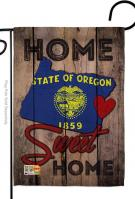 State Oregon Home Sweet Garden Flag