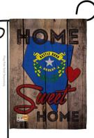 State Nevada Home Sweet Garden Flag