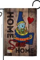 State Idaho Home Sweet Garden Flag