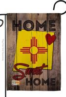 State New Mexico Home Sweet Garden Flag
