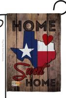 State Texas Home Sweet Garden Flag