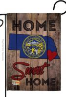 State Nebraska Home Sweet Garden Flag