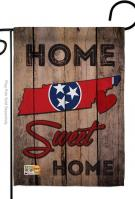 State Tennessee Home Sweet Garden Flag