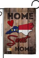 State North Carolina Home Sweet Garden Flag