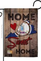 State Virginia Home Sweet Garden Flag