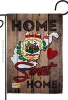 State West Virginia Home Sweet Garden Flag