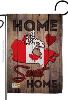 Canada Home Sweet Garden Flag