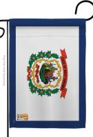West Virginia Decorative Garden Flag
