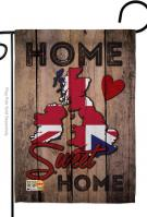 UK Home Sweet Garden Flag