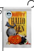 Happy Halloween Spirit Garden Flag