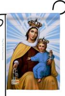 Our Lady Of Mount Carmel Garden Flag