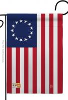 Betsy Ross Decorative Garden Flag
