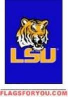 LSU Tigers Garden Window Flag 15\