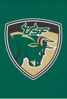South Florida Bulls Garden Window Flag 15\