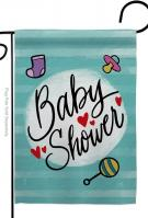 Baby Shower Decorative Garden Flag