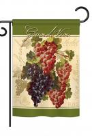 Red & Purple Grapes Garden Flag