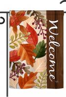 Autumn Leaves Garden Flag