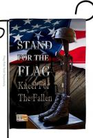 Stand For The Flag Garden Flag