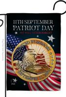 Patriot Day 911 Garden Flag