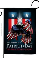 911 Patriot Day Garden Flag
