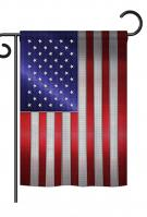 Steel Of Pride American Flag Garden Flag