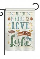 All You Need Is Love And Lake Garden Flag