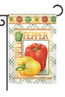 Bell Pepper Garden Flag