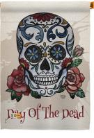 Day Of The Dead House Flag