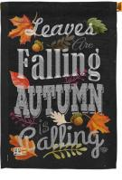 Autumn Is Calling Fall House Flag