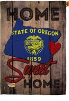State Oregon Home Sweet House Flag