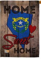 State Nevada Home Sweet House Flag
