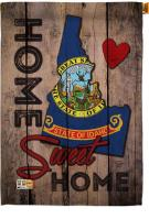 State Idaho Home Sweet House Flag