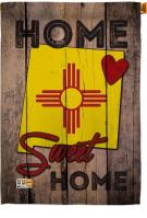 State New Mexico Home Sweet House Flag