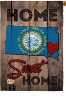 State South Dakota Home Sweet House Flag