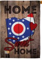 State Ohio Home Sweet House Flag