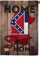 State Mississippi Home Sweet House Flag