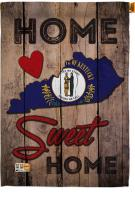 State Kentucky Home Sweet House Flag
