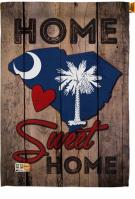 State South Carolina Home Sweet House Flag