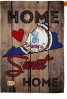 State Virginia Home Sweet House Flag
