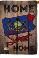 State Pennsylvania Home Sweet House Flag