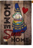 State New Hampshire Home Sweet House Flag