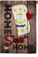 State Rhode Island Home Sweet House Flag