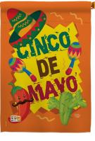 Cinco de Mayo Decorative House Flag