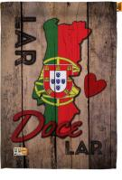 Portugal Lar Doce House Flag